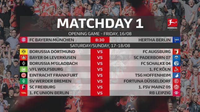 Боруссия дортмунд расписание игр
