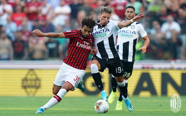 «Милан» начинает новый сезон в Серии А с поражения