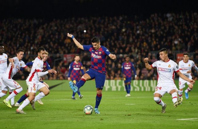 Суарес объяснил, как забил удивительный гол пяткой в ворота «Мальорки»