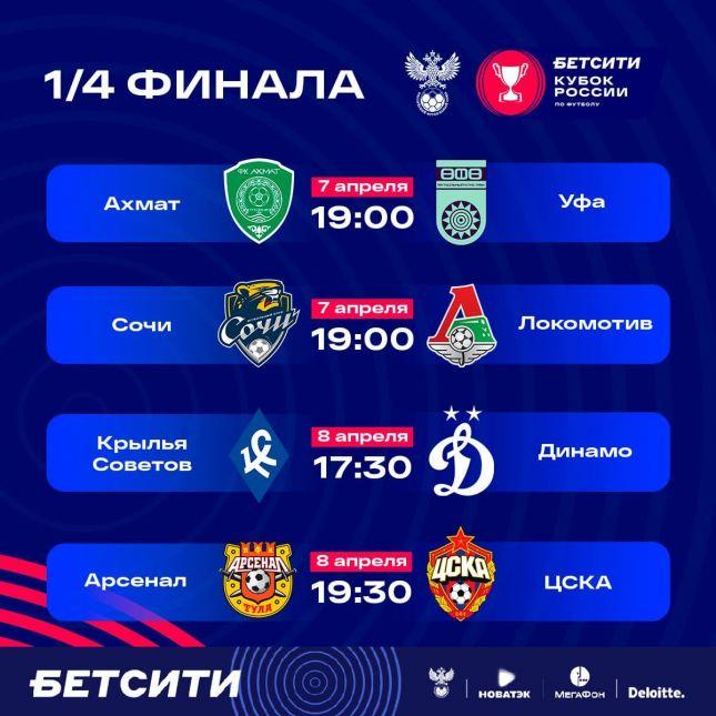 цска футбольный клуб расписание матчей москва
